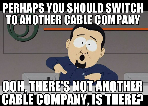 Where is my fucking cable